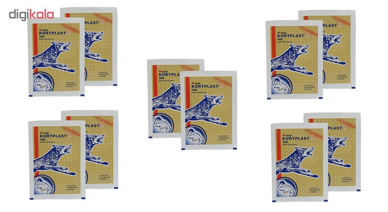 چسب ضد درد کرت پلاست مدل Yaki بسته 10 عددی main 1 1
