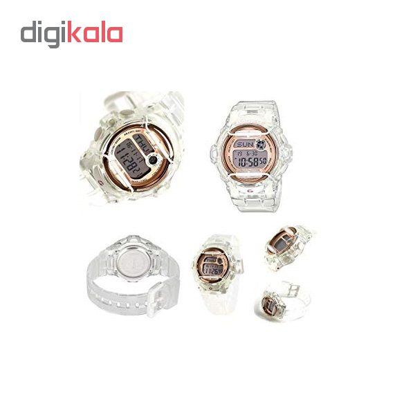 ساعت مچی دیجیتالی زنانه کاسیو BG-169G-7BDR