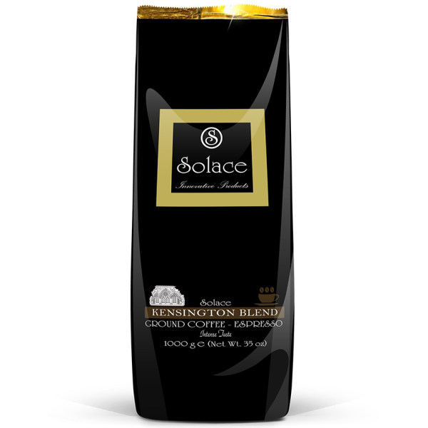 قهوه سولیس مدل KENSINGTON GROUND DARK ROAST مقدار 1000 گرم