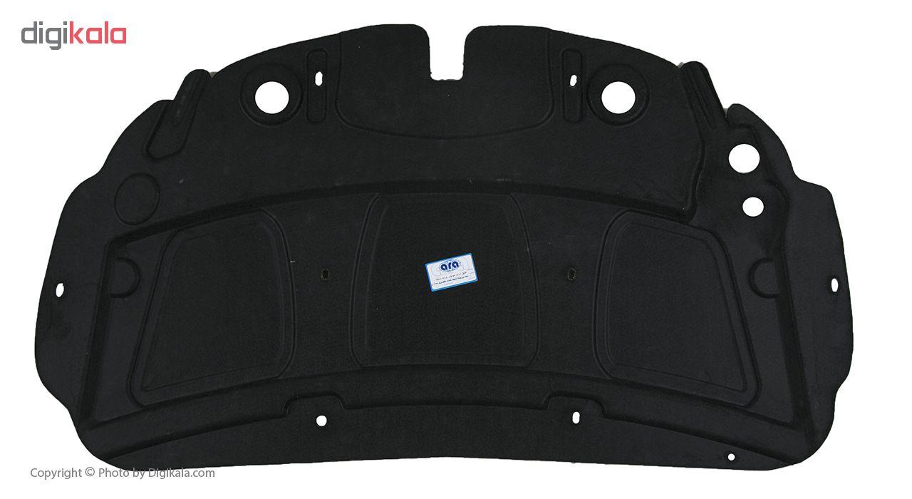 عایق درب موتور خودرو آرا مدل اطلس مناسب برای ساینا