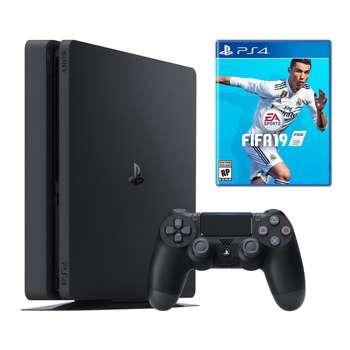کنسول بازی سونی مدل Playstation 4 Slim کد Region 2 CUH-2116A ظرفیت 500 گیگابایت   Sony Playstation 4 Slim Region 2 CUH-2116A 500GB Game Console