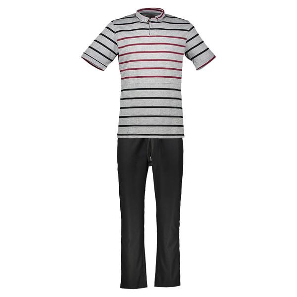 ست پولوشرت و شلوار مردانه رویین تن پوش مدل 1302