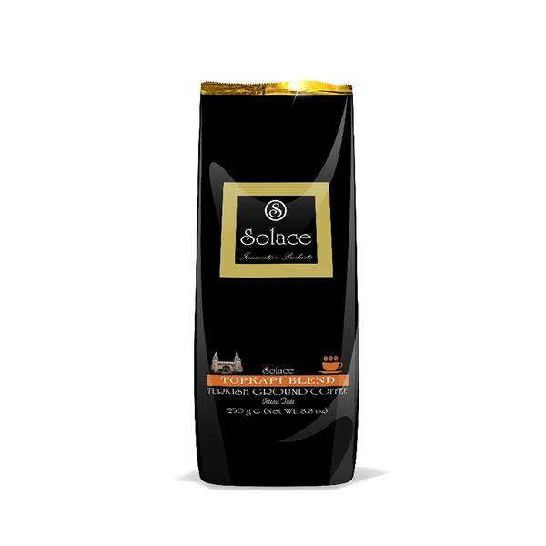 قهوه سولیس مدل TOPKAPI TURKISH COFFEE مقدار 250 گرم