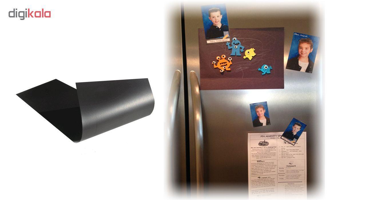 آهنربا ورقه ای لاستیکی مدل Rubber ابعاد 40x30 سانتیمتری main 1 4