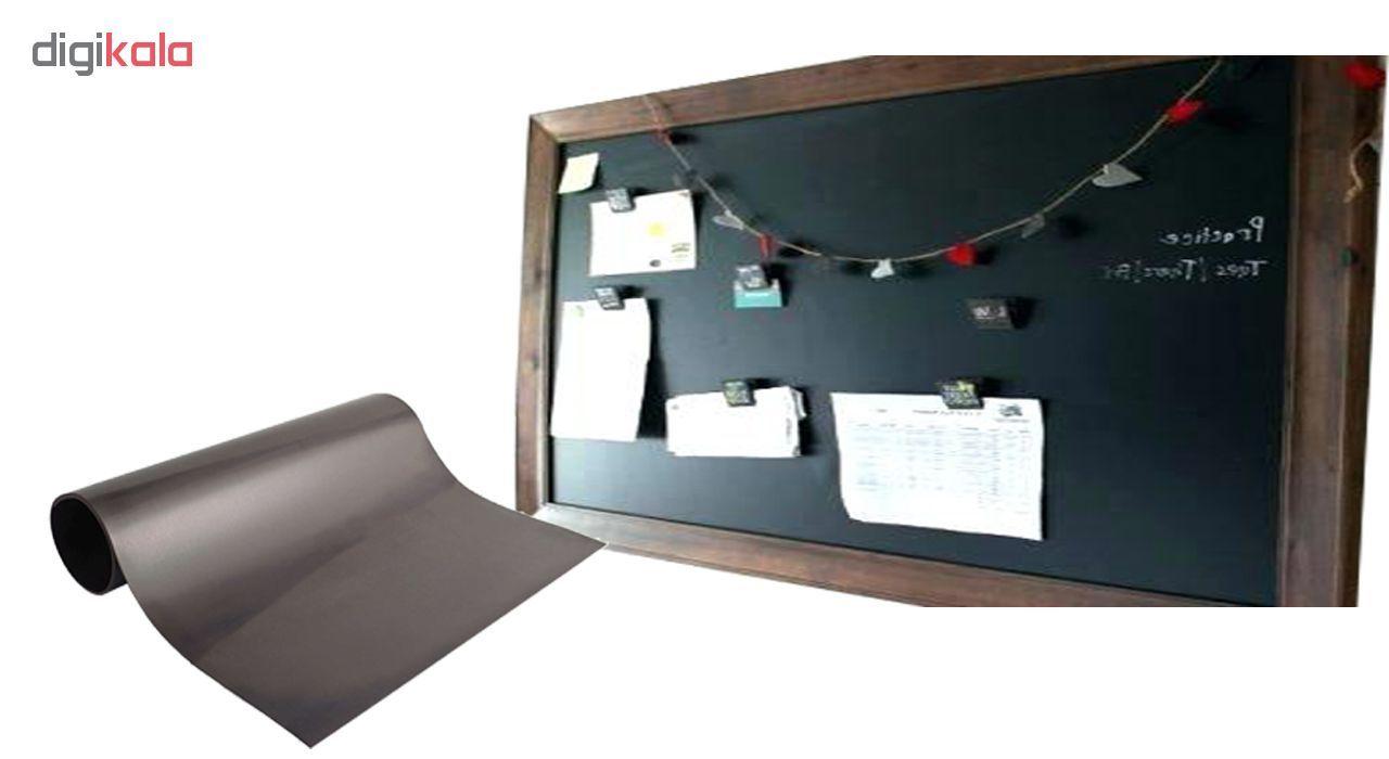 آهنربا ورقه ای لاستیکی مدل Rubber ابعاد 40x30 سانتیمتری main 1 5