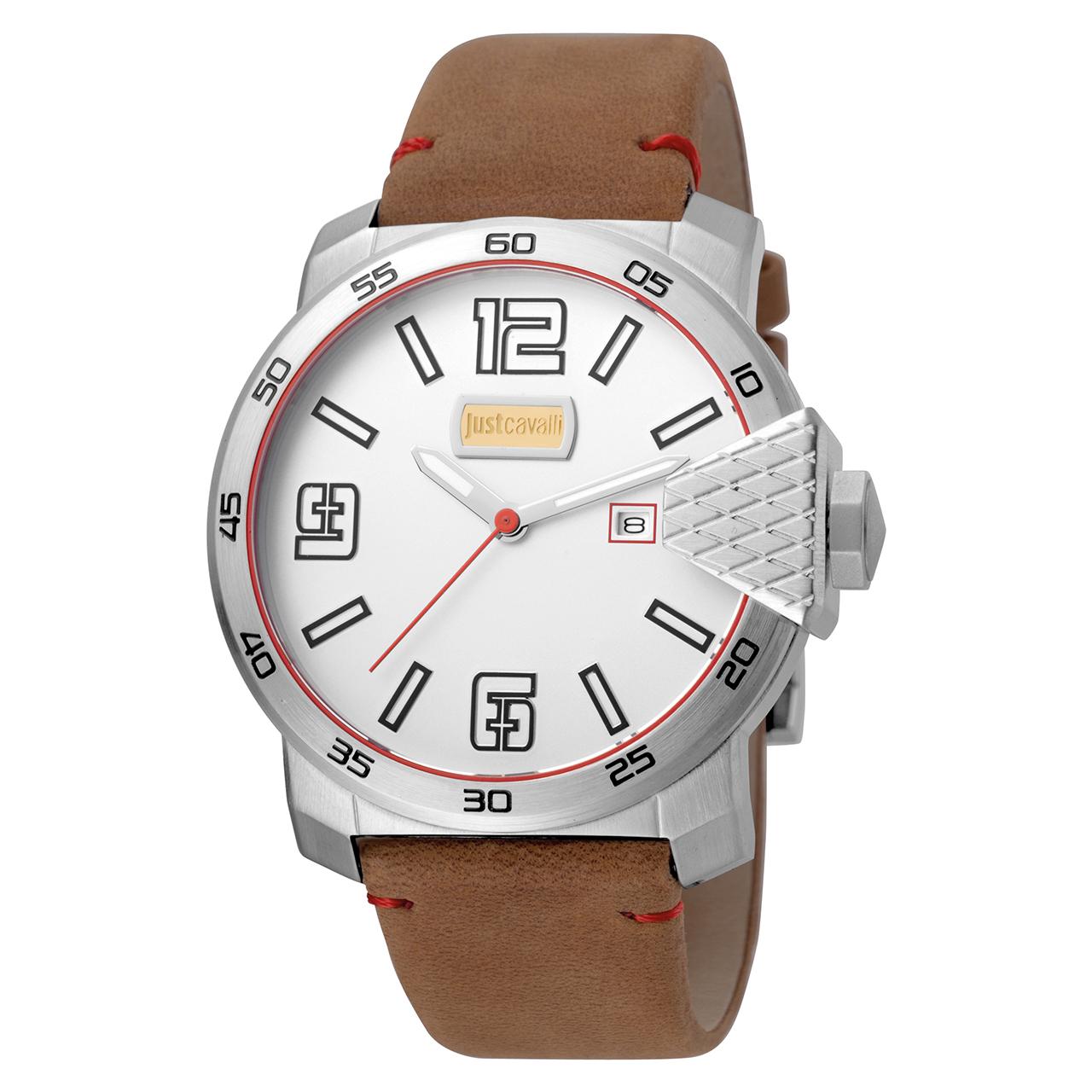 کد تخفیف                                      ساعت مچی عقربه ای مردانه جاست کاوالی مدل JC1G015L0015