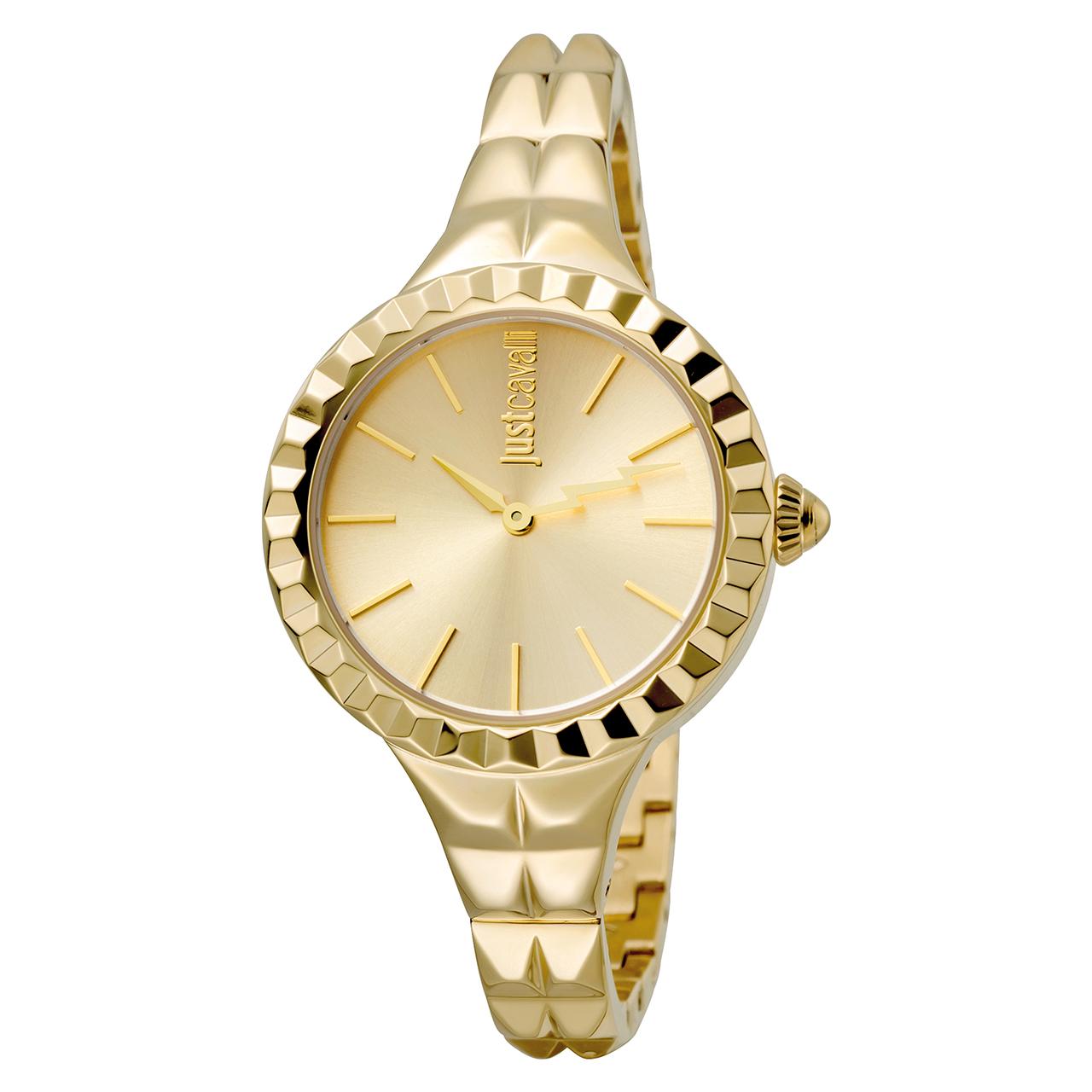 ساعت مچی عقربه ای زنانه جاست کاوالی مدل JC1L002M0035