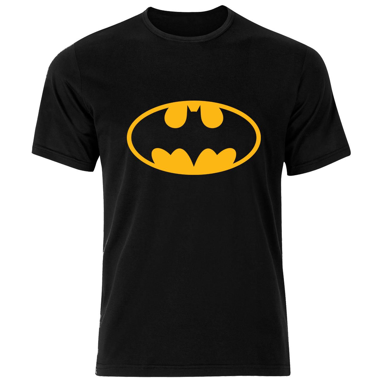 تی شرت مردانه نخی فلوریزا طرح بتمن کد batman001M تیشرت