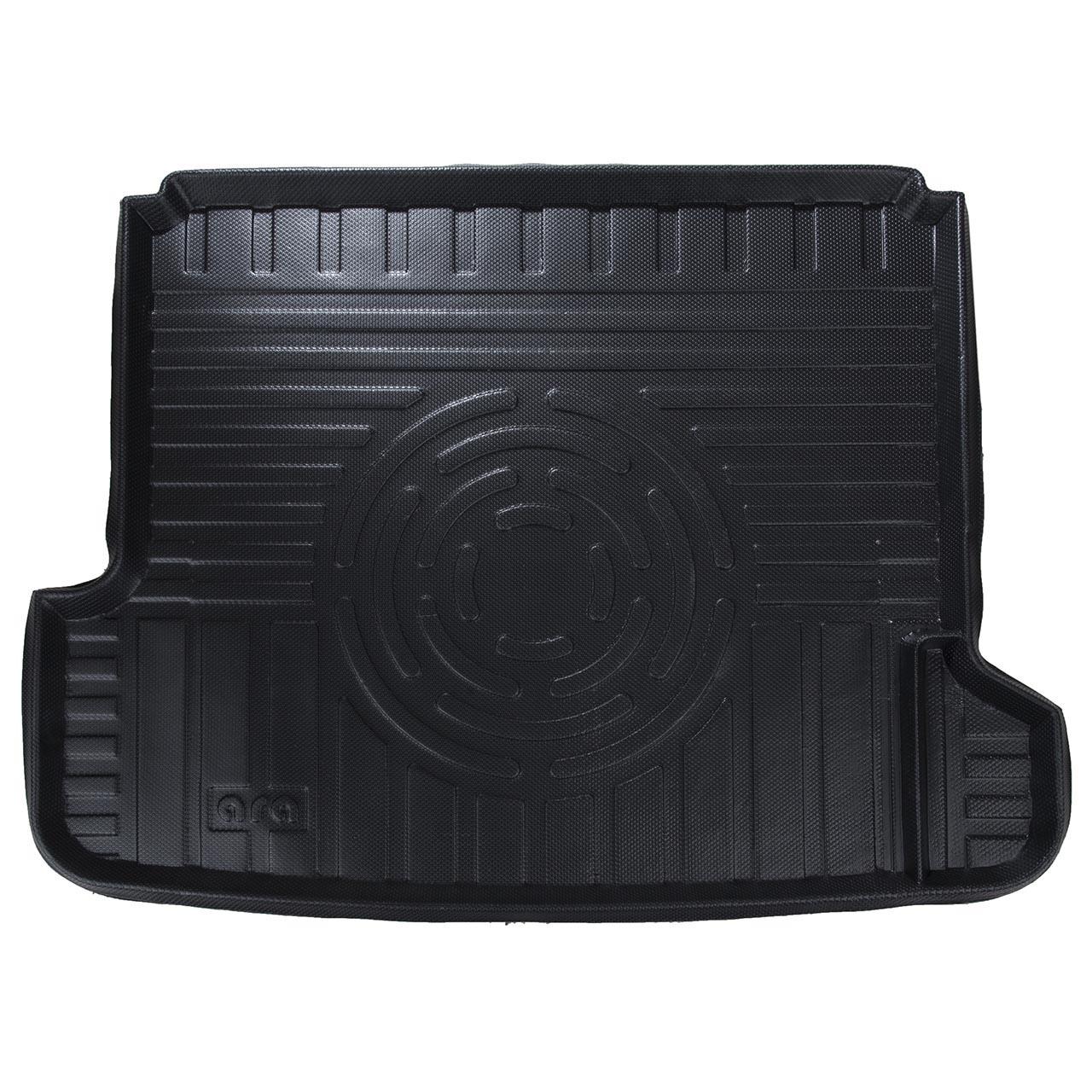 کفپوش سه بعدی صندوق خودرو آرا مدل اطلس مناسب برای پژو 405 (مشکی)