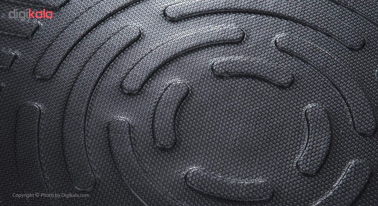 کفپوش سه بعدی صندوق خودرو آرا مدل اطلس مناسب برای پژو 405 (مشکی) main 1 2
