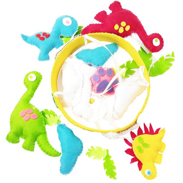 آویز سقفی کودک هیاهو  مدل عصر دایناسورها