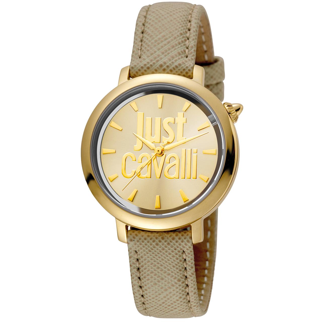 ساعت مچی عقربه ای زنانه جاست کاوالی مدل JC1L007L0025