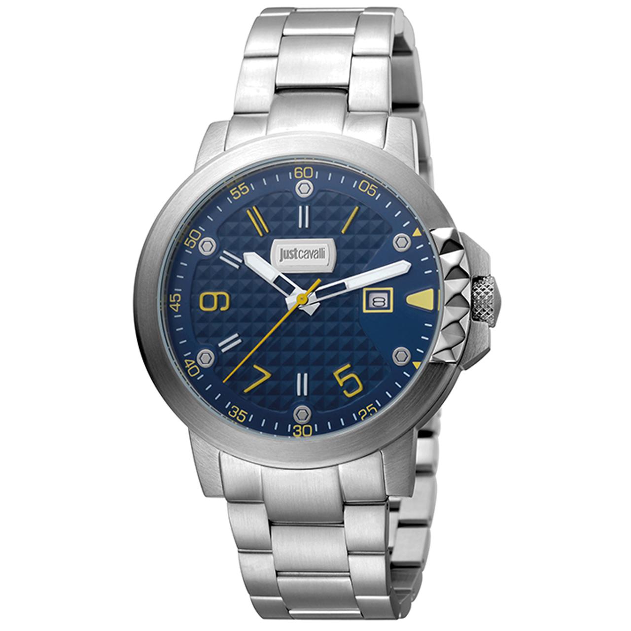 ساعت مچی عقربه ای مردانه جاست کاوالی مدل JC1G016M0075 35