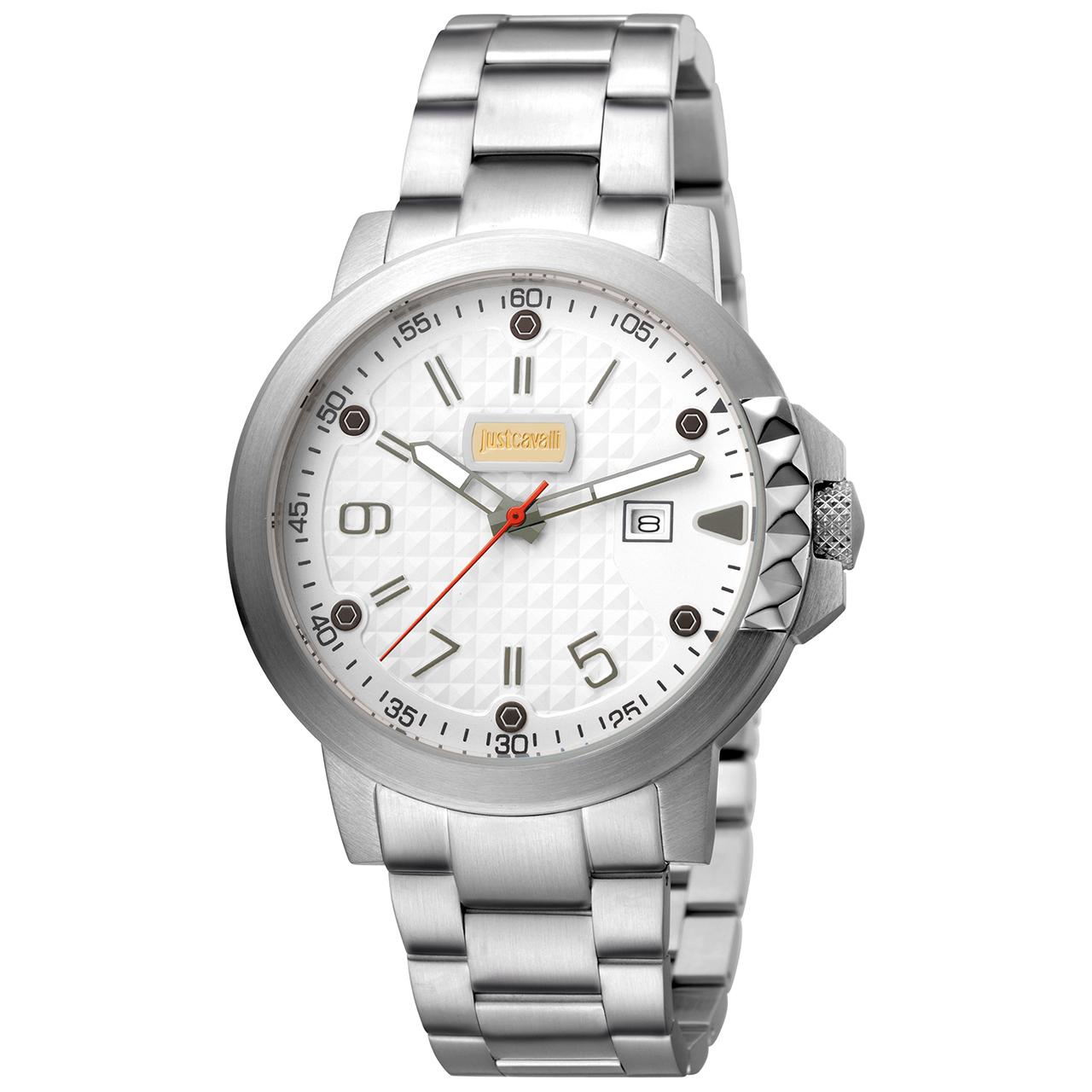 ساعت مچی عقربه ای مردانه جاست کاوالی مدل JC1G016M0065