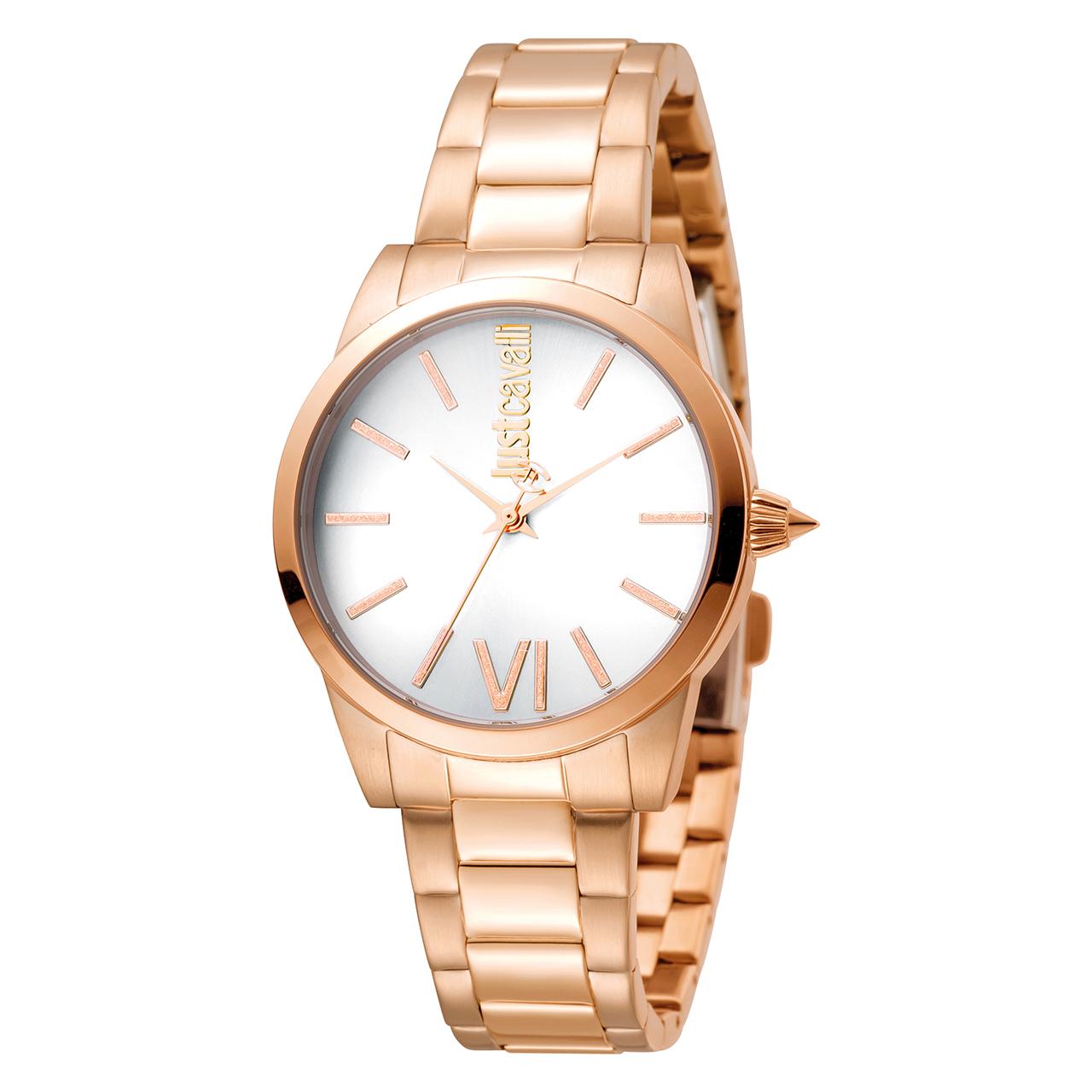 ساعت مچی عقربه ای زنانه جاست کاوالی مدل JC1L010M0125 24