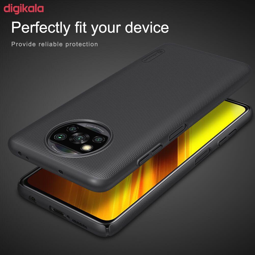 کاور نیلکین مدل Frosted Shield مناسب برای گوشی موبایل شیائومیRedmi Poco X3 NFC main 1 22