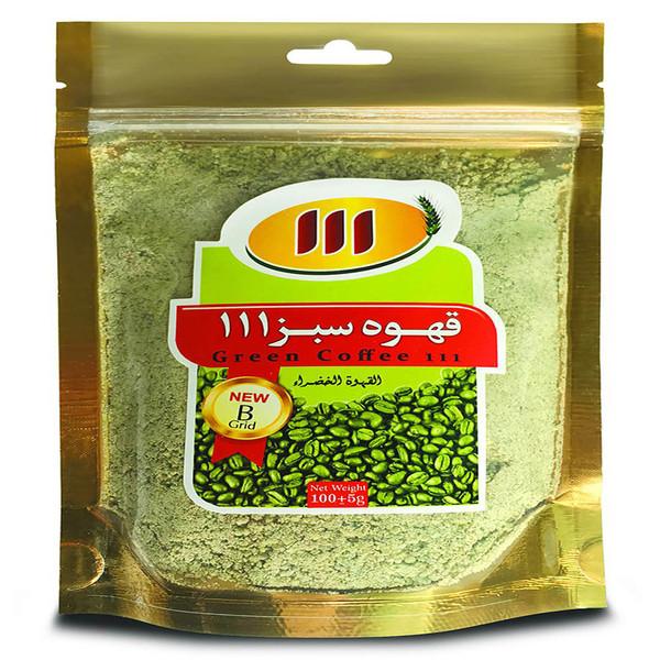 قهوه سبز 111 بسته 100 گرمی