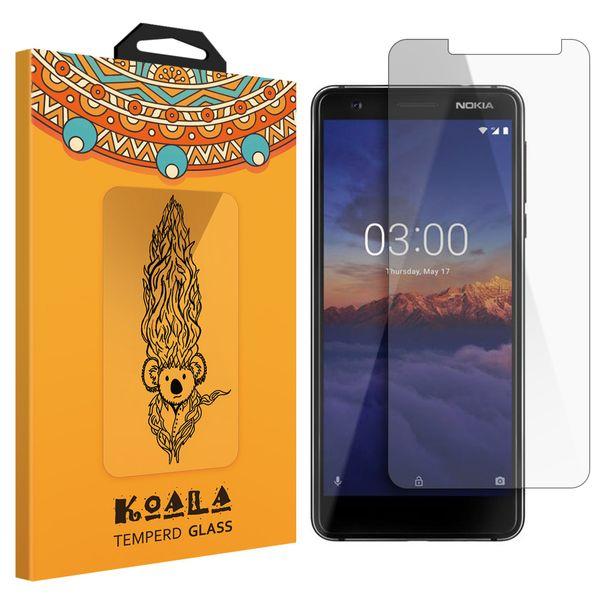محافظ صفحه نمایش شیشه ای کوالا مدل 616 مناسب برای گوشی موبایل نوکیا 3.1