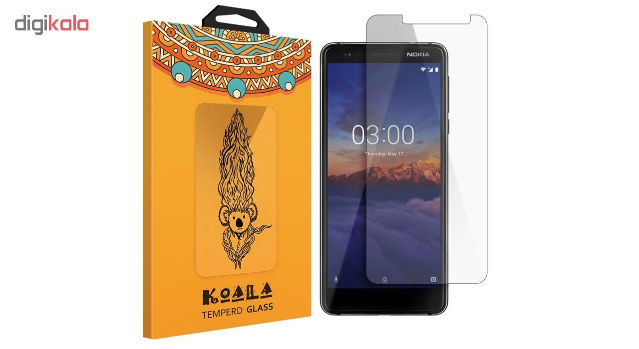 محافظ صفحه نمایش شیشه ای کوالا مدل 616 مناسب برای گوشی موبایل نوکیا 3.1 main 1 1