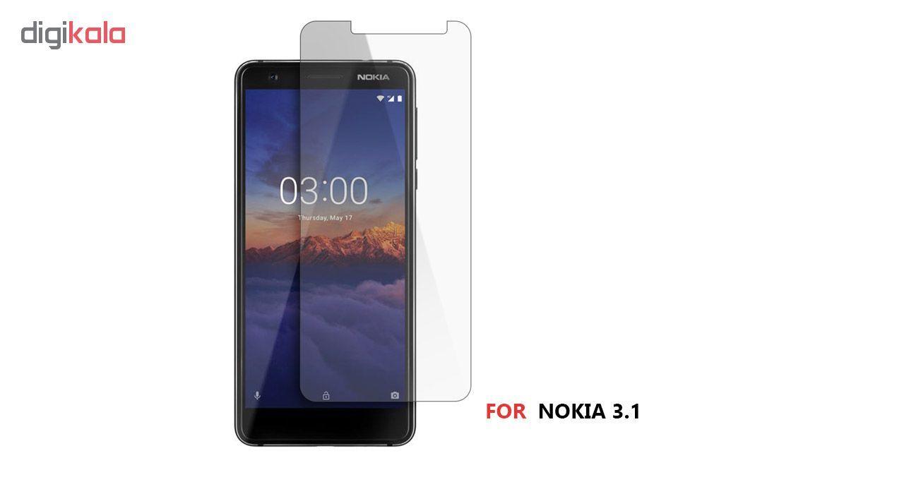 محافظ صفحه نمایش شیشه ای کوالا مدل 616 مناسب برای گوشی موبایل نوکیا 3.1 main 1 2