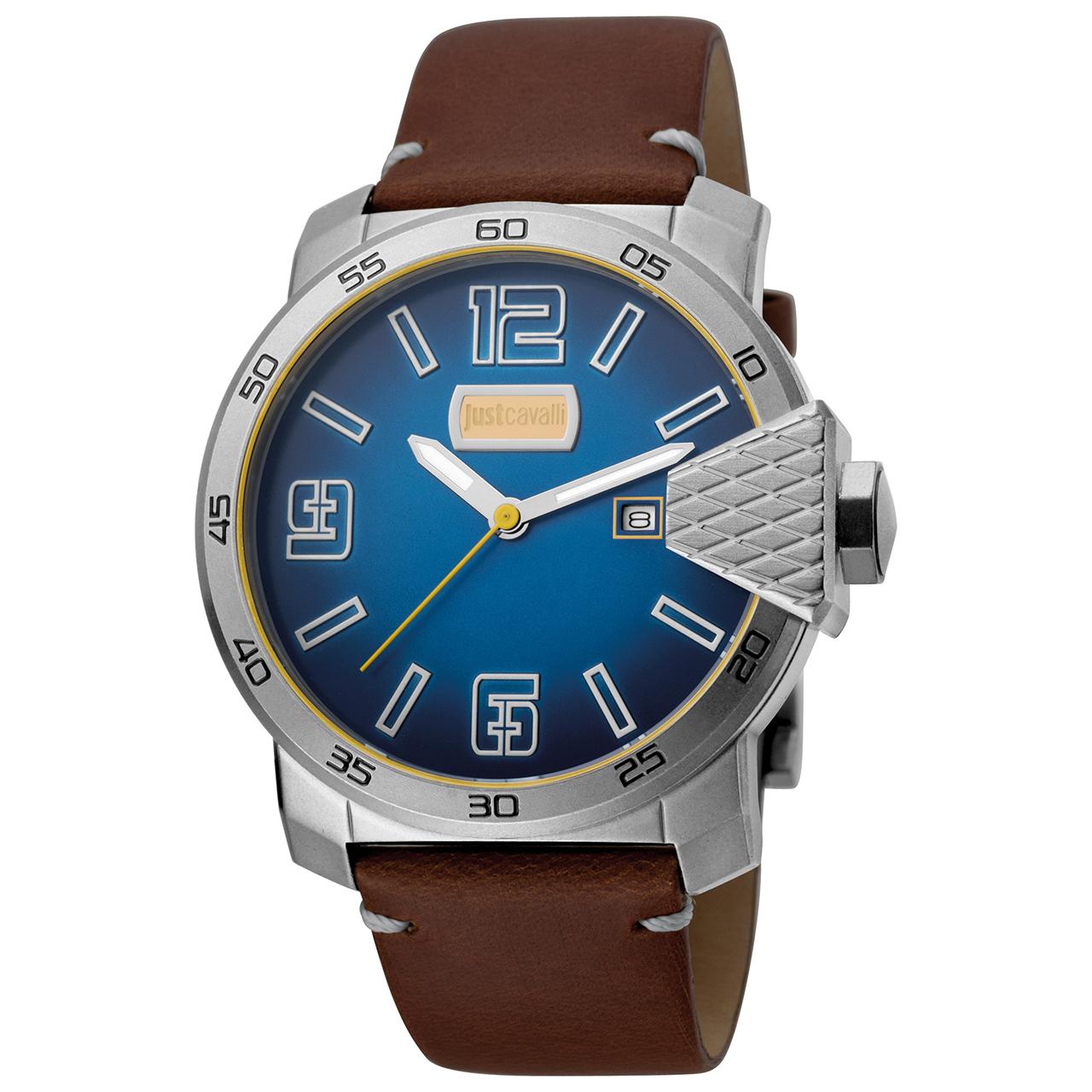 ساعت مچی عقربه ای مردانه جاست کاوالی مدل JC1G015L0035 38