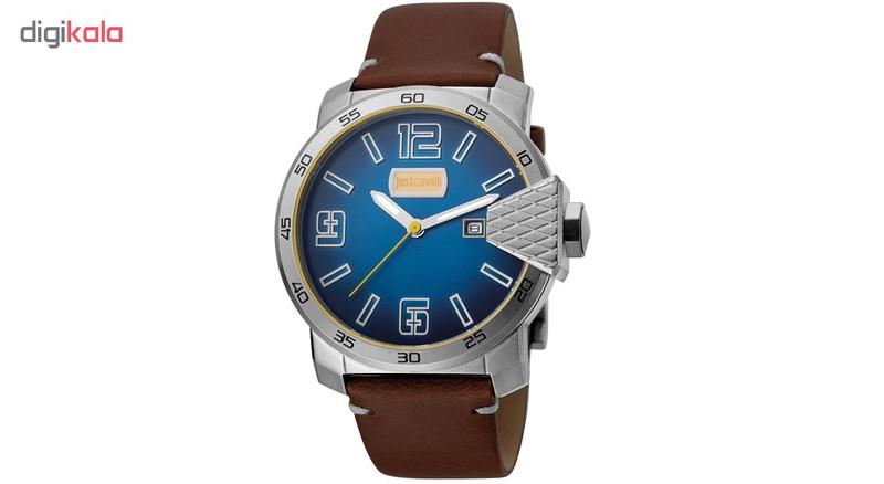 ساعت مچی عقربه ای مردانه جاست کاوالی مدل JC1G015L0035