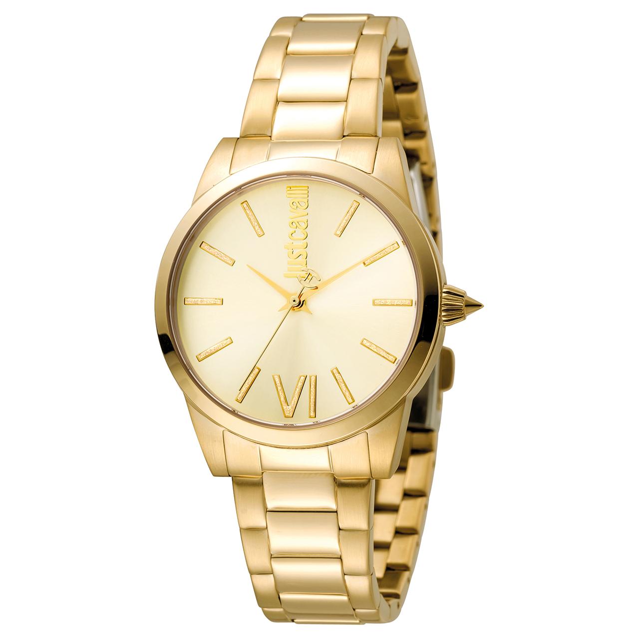 ساعت مچی عقربه ای زنانه جاست کاوالی مدل JC1L010M0105