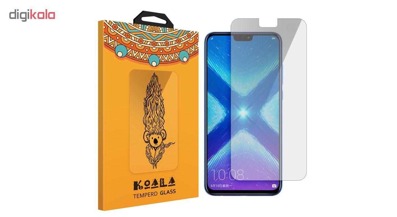 محافظ صفحه نمایش شیشه ای کوالا مدل 616 مناسب برای گوشی موبایل هوآوی Honor 8X main 1 1