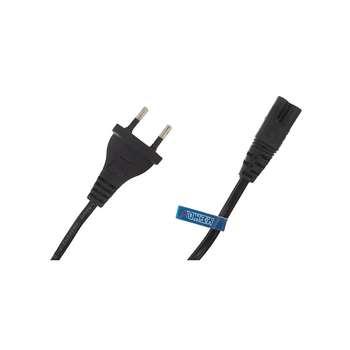کابل برق دو پین مکا مدل MEC1 طول 1.5 متر