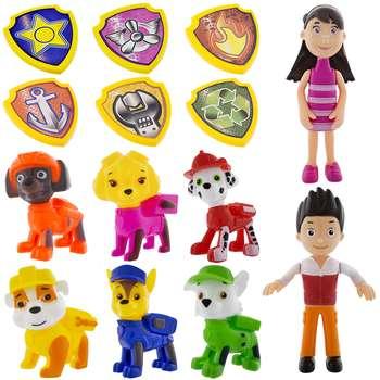 ست اسباب بازی سگهای نگهبان مدل Paw Patrol City Police  بسته 14 عددی |