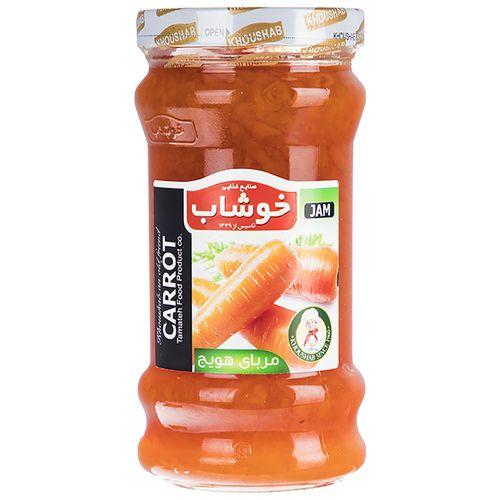 مربای هویج خوشاب مقدار 720 گرم