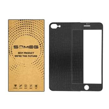 محافظ صفحه نمایش پشت و رو سومگ مدل JQ78G مناسب برای گوشی موبایل اپل iPhone 7/8