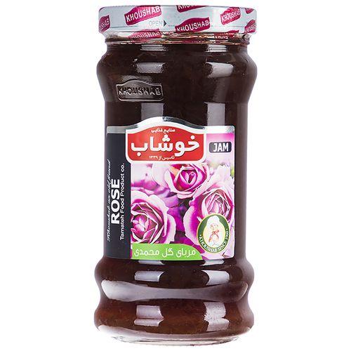 مربای گل محمدی خوشاب مقدار 720 گرم