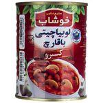 کنسرو لوبیا چیتی با قارچ خوشاب - 350 گرم thumb