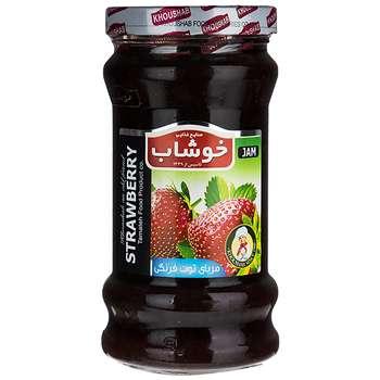 مربای توت فرنگی خوشاب مقدار 720 گرم