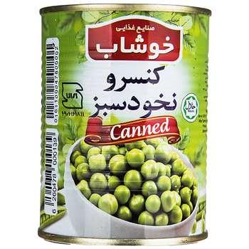 کنسرو نخود سبز خوشاب - 350 گرم