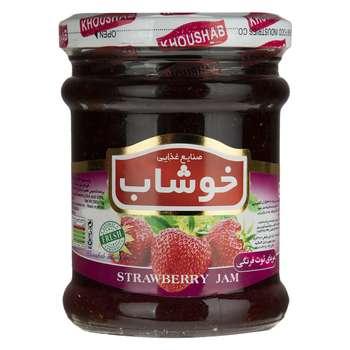 مربای توت فرنگی خوشاب مقدار 290 گرم