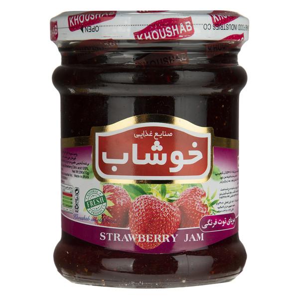 مربای توت فرنگی خوشاب - 290 گرم