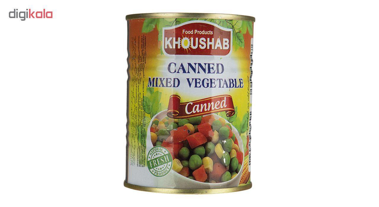 کنسرو سبزیجات مخلوط خوشاب - 350 گرم main 1 2