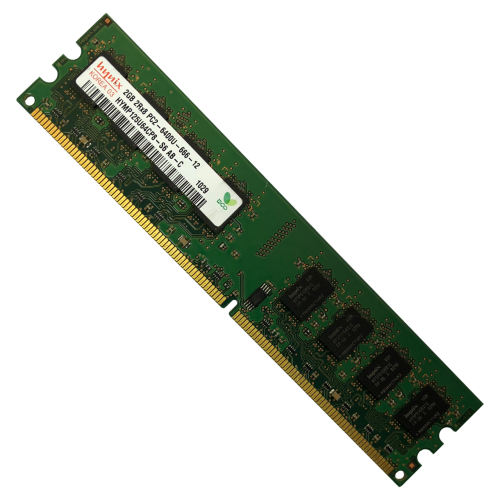 رم دسکتاپ DDR2 تک کاناله 800 مگاهرتز CL6 هاینیکس مدل DIMM ظرفیت 2 گیگابایت