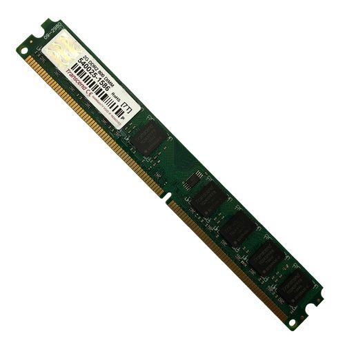 رم دسکتاپ DDR2 تک کاناله 800 مگاهرتز CL6 ترنسند مدل DIMM ظرفیت 2 گیگابایت