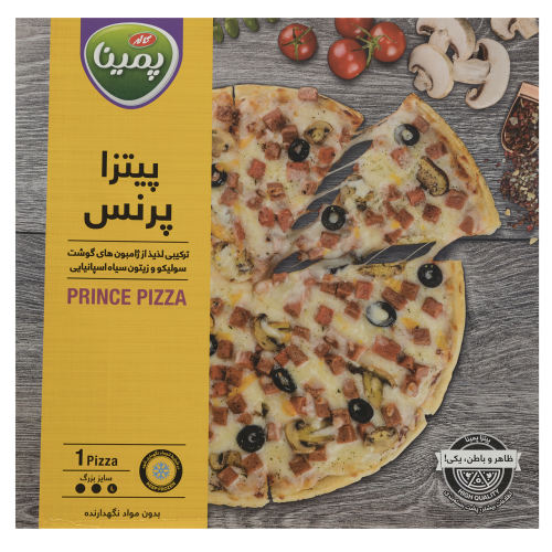 پیتزا پرنس پمینا کاله مقدار 430 گرم
