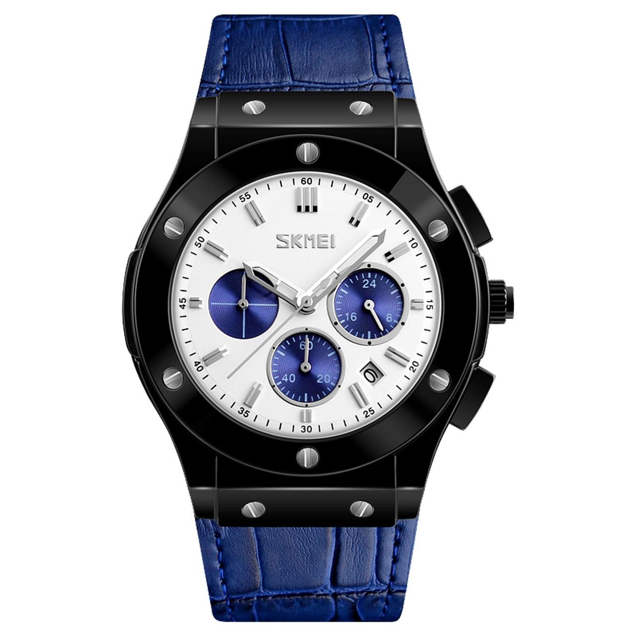 ساعت مچی عقربه ای مردانه اسکمی مدل S9157/Blue