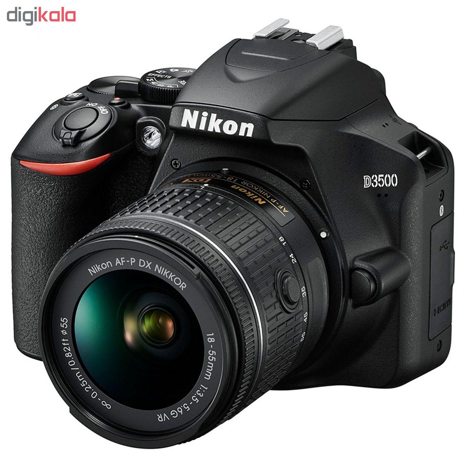 دوربین دیجیتال نیکون مدل D3500 به همراه لنز 18-55 میلی متر VR AF-P main 1 1