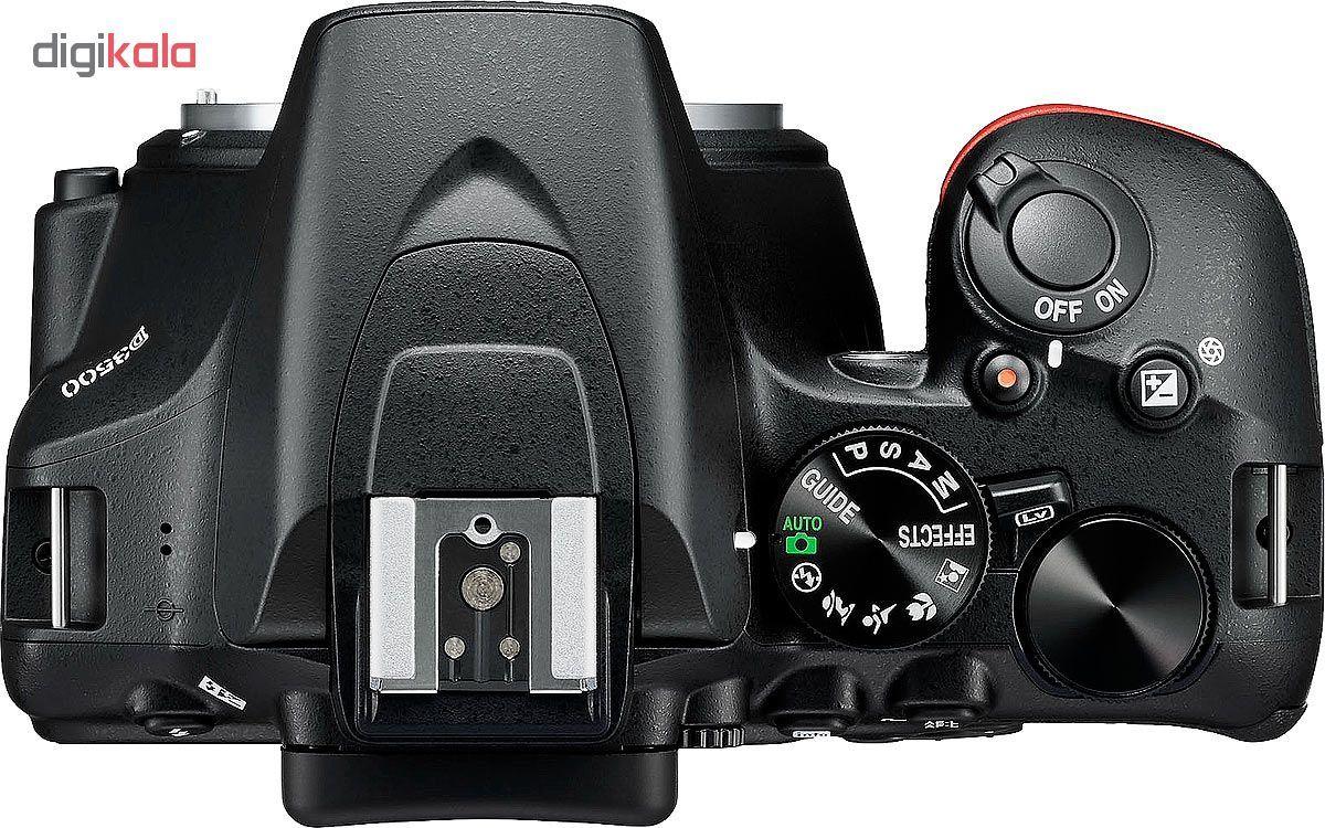 دوربین دیجیتال نیکون مدل D3500 به همراه لنز 18-55 میلی متر VR AF-P main 1 3