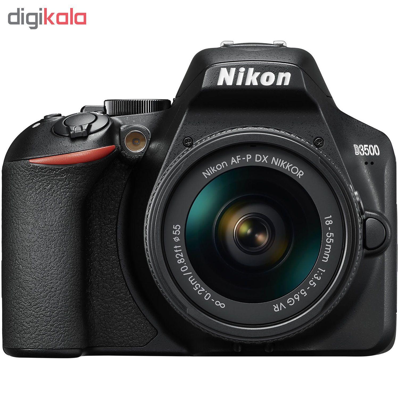 دوربین دیجیتال نیکون مدل D3500 به همراه لنز 18-55 میلی متر VR AF-P main 1 4