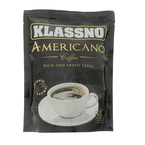 بسته قهوه فوری کلسنو مدل Americano بسته20 عددی