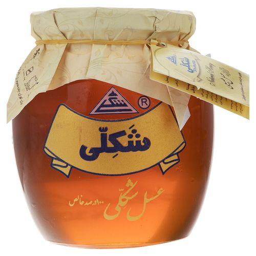 عسل طبیعی شکلی مقدار 140 گرم