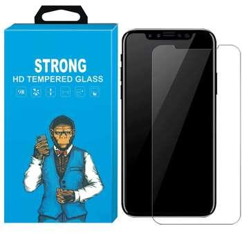 محافظ صفحه نمایش شیشه ای استرانگ مدل مانکی مناسب برای گوشی اپل Iphone XS Max