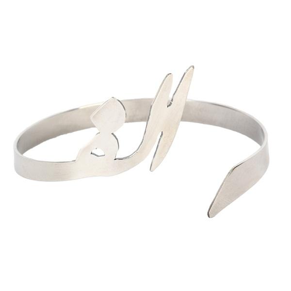 دستبند گالنا طرح حرف الف